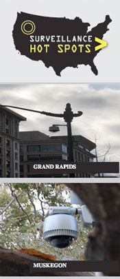 Grand Rapids Surveillance Camera Map Featured on ACLU Site