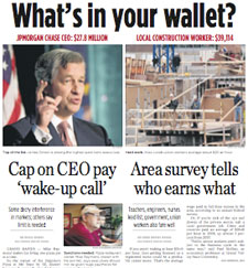 The Grand Rapids Press Reported  that the CEO Pay Cap Might be 'Socialistic'