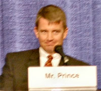 West Michigan Native Erik Prince has Resigned as Blackwater CEO