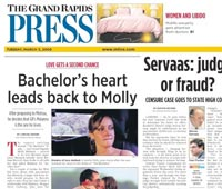 The Press has Run 24 Stories--Including 3 Front Page Stories--On The Bachelor