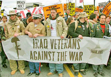 Anti-War Veterans Groups Are Calling for Continued Protest Against The Iraq War