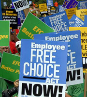 Corporate CEOs Offer a Weakened Alternative to the Employee Free Choice Act