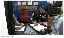 WXMI Promotes Military Recruiting