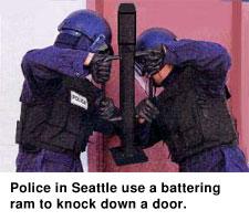 Battering Ram Police