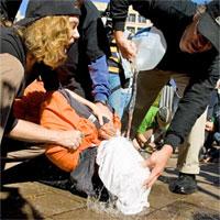 Water Boarding Torture
