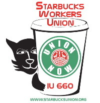 starbucks workers union logo