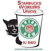 starbucks workers union logo