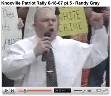 randy gray of the ku klux klan